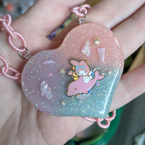 My Melody Resin Necklace