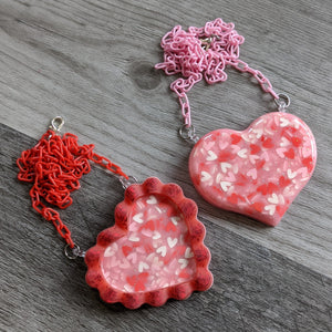 Valentine Resin Necklace