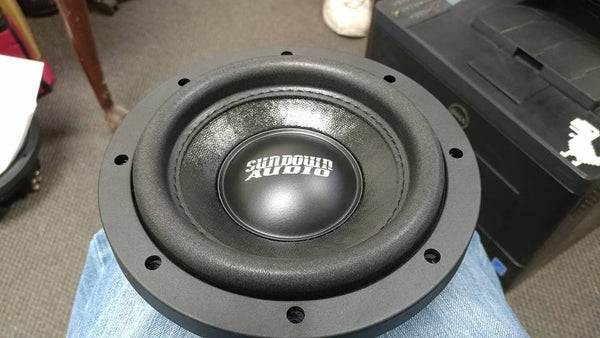 "Sundown Audio SA 6.5"" subwoofer"