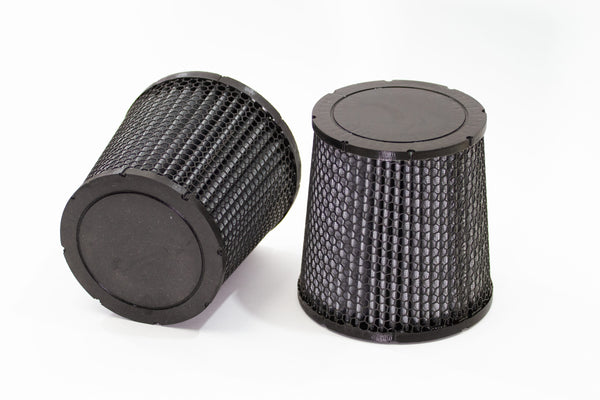 McLaren dry media engine air filters (pair) *select your model*