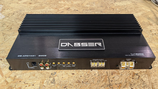 Dabser DB-APD1K51 1500 watt subwoofer amplifier