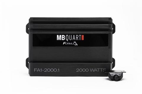 MB Quart FA1-2000.1 2,000 watt mono amp