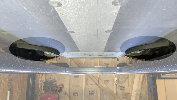 McLaren MP4-12C and 650s front underbody strakes (pair)