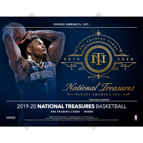2019-2020 National Treasures Basketball 1 box break #4