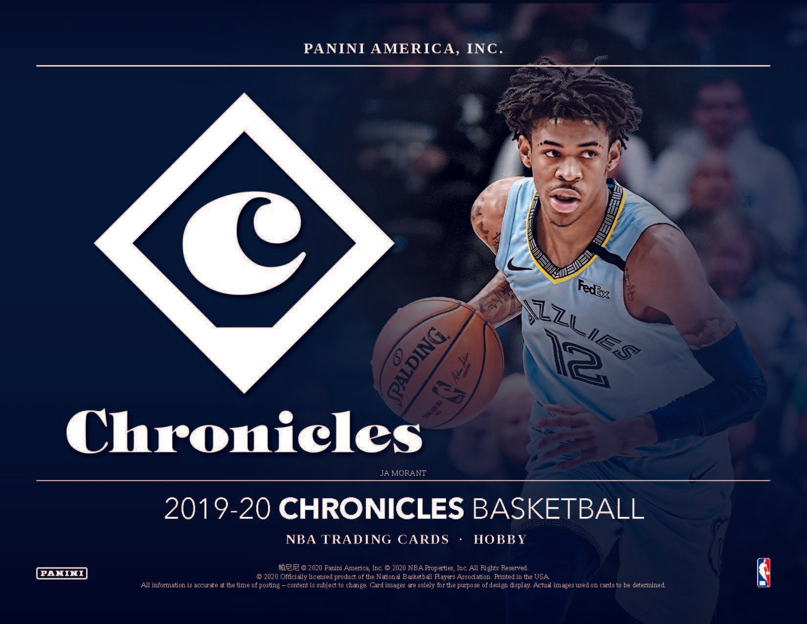 2019-20 Panini Chronicles Basketball Random Team 2 box break #2