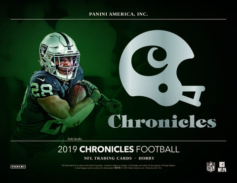 2019 Panini Chronicles Football 12 box full case break #2