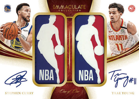 2019-20 Panini Immaculate Collection Basketball Random Serial Number 1 Box Break #4
