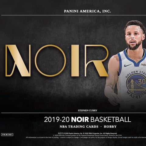 2019-20 Panini Noir Basketball Random Team 1 box break #3