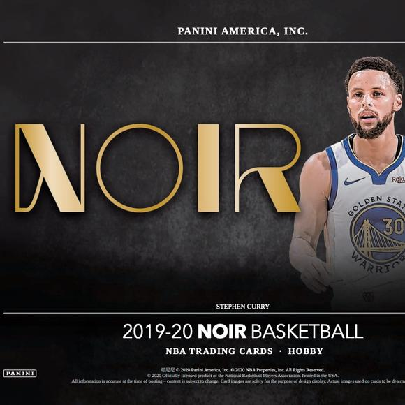 2019-20 Panini Noir Basketball Random Tiered Team 1 box break #1