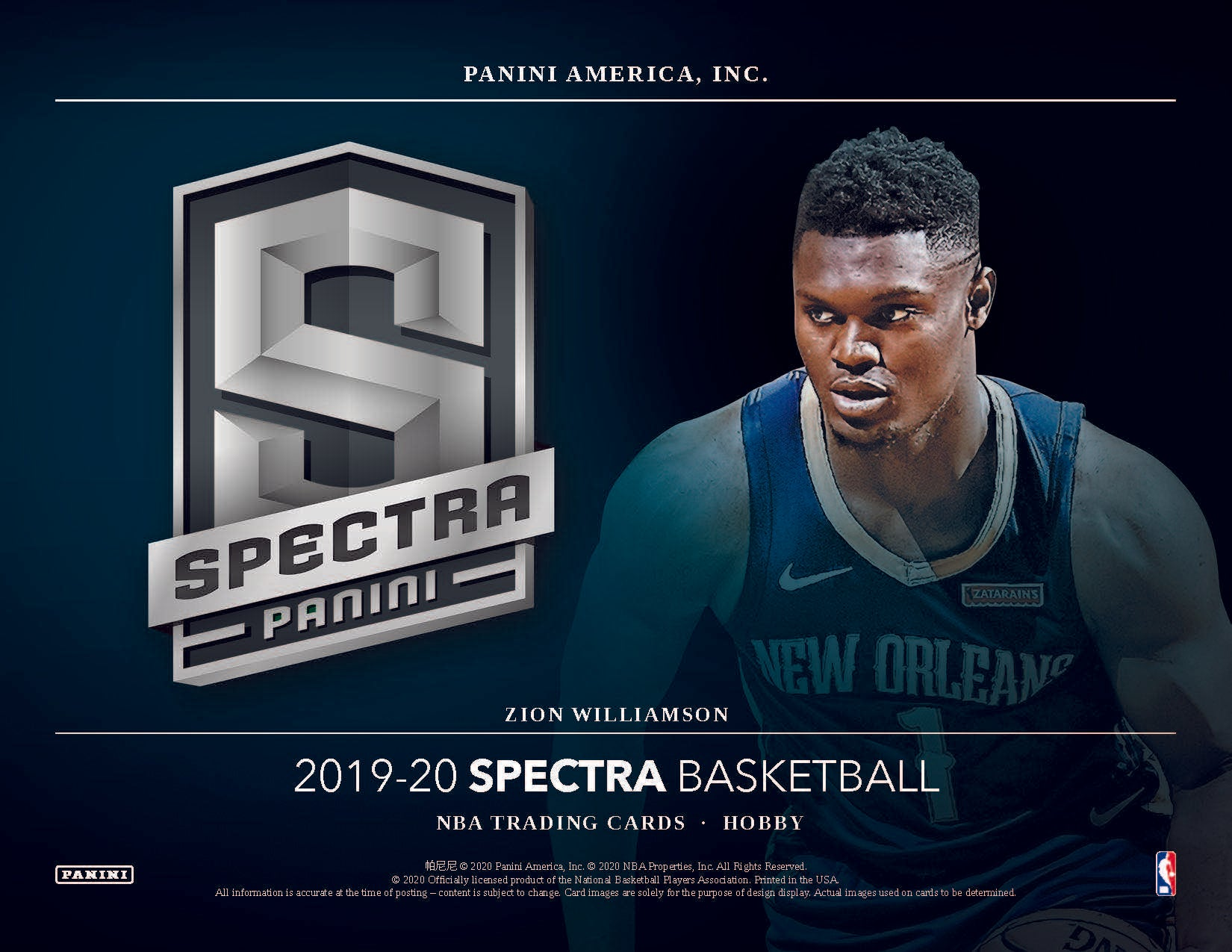 2019-20 Panini Spectra Basketball 2 Box pick your team #2