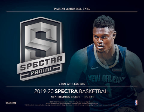 2019-20 Panini Spectra Basketball Random Team 2 box break #1