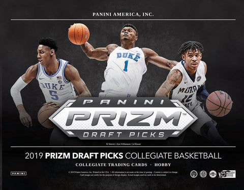 2019 Panini Prizm Draft Picks Basketball random teams 8 box case break #1