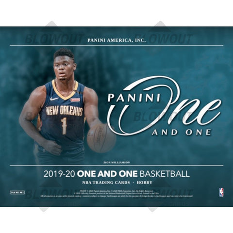 2019-20 Panini One and One Basketball Personal 1 Hobby Box Break