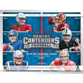 2019  Panini Contenders Football 6 box 1/2 case break #3