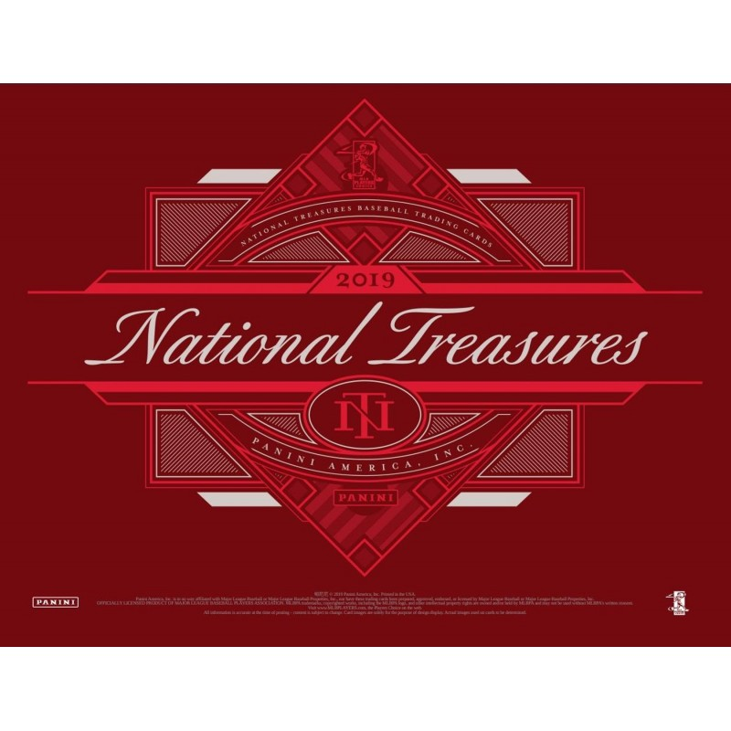 2019 National Treasures Baseball 4 box full case break pick your team #1