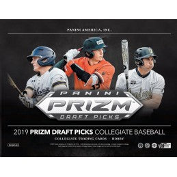 2019  Prizm Draft Picks Baseball 8 box 1/2 case break pick your team #6