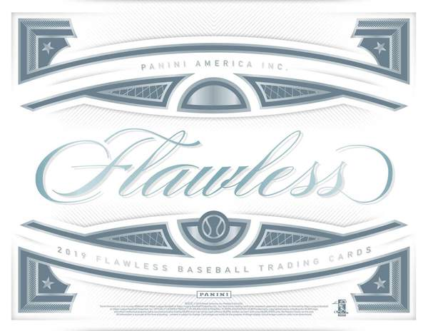 2019 Panini Flawless Baseball 1 box half case break pick your team #11