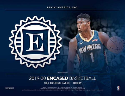 2019-20 Panini Encased Basketball Random Tiered Team 1 Box Break #13