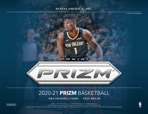 2020-21 Panini Prizm Basketball FAST BREAK 1 Box Random Tiered Team Break #17
