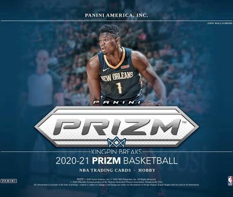 2020-21 Panini Prizm Basketball Hobby 1 Box Random Tiered Team Break #13
