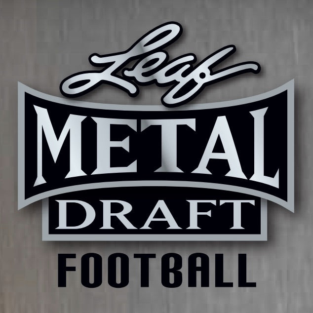 2020 Leaf Metal Draft Jumbo Football Personal 1 Box Break