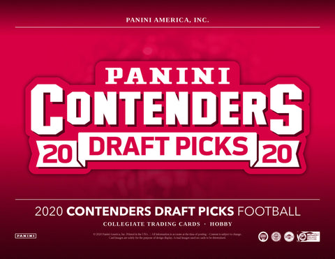2020 Contenders Draft Picks random NFL team style box 4 box 1/3 case break #3