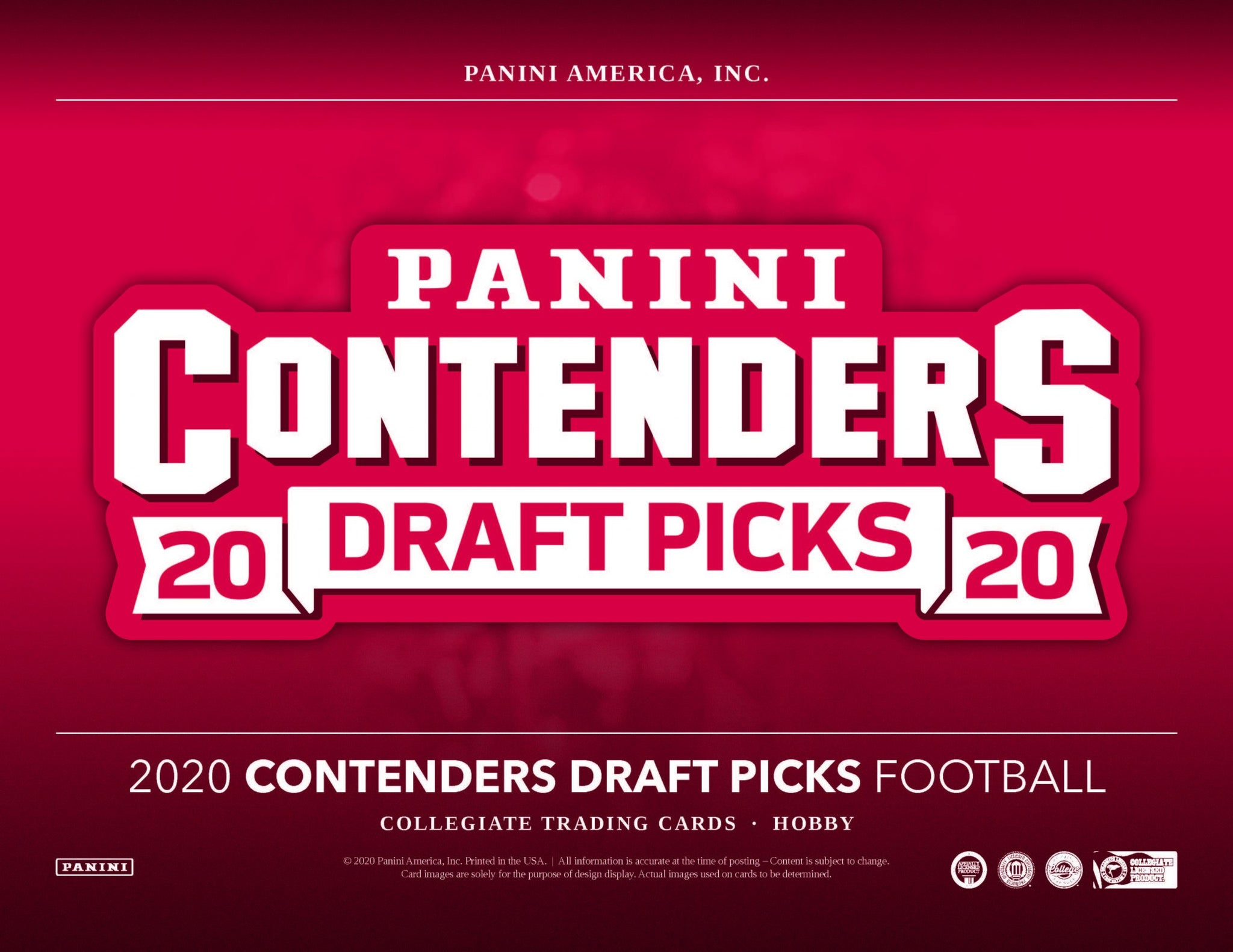 2020 Panini Contenders Draft Picks Football Personal 1 Box Break