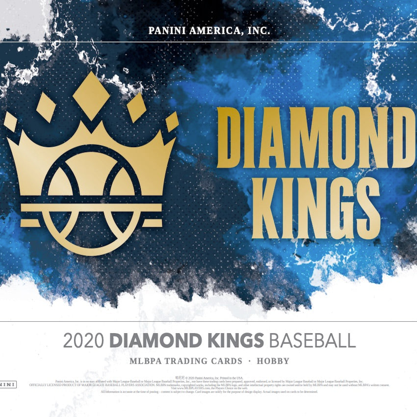 2020 Diamond Kings Baseball 6 box half case break pick your team #1