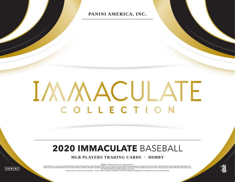 2020 Panini Immaculate Collection Baseball 4 box half case break pick your team #8