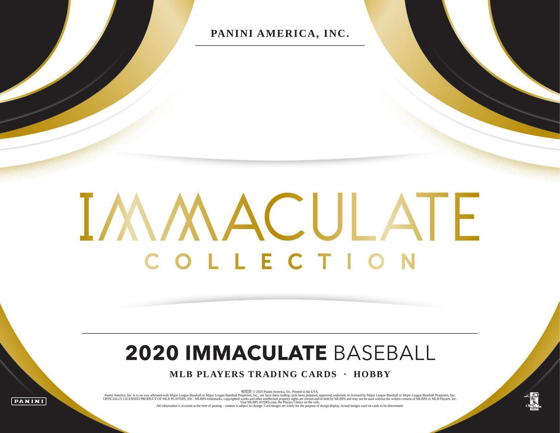 2020 Panini Immaculate Collection Baseball 4 box half case break pick your team #7