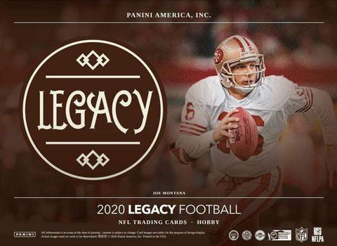 2020 Panini Legacy Football 6 box half case break pick your team #7
