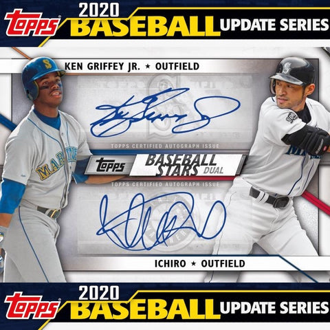 2020 Topps Update Series Baseball Hobby Box 1 Sealed Box (Shipped)