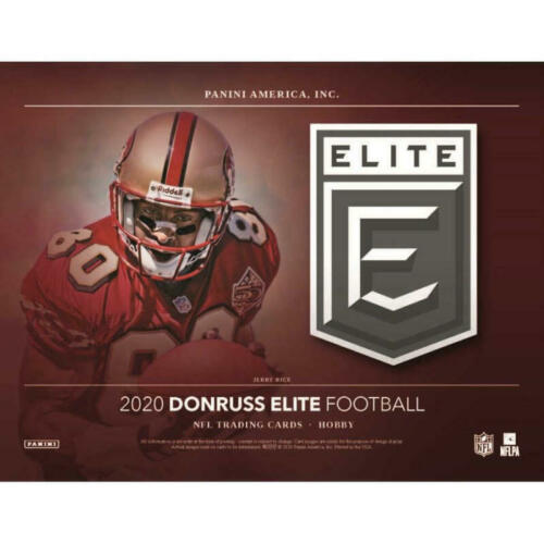 2020 Donruss Elite Football 6 box 1/2 case break #2