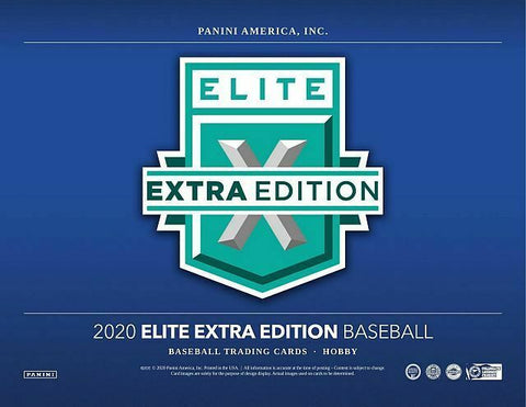 2020 Panini Elite Extra Edition Baseball 5 Box 1/4 Case Break Pick Your Team #8