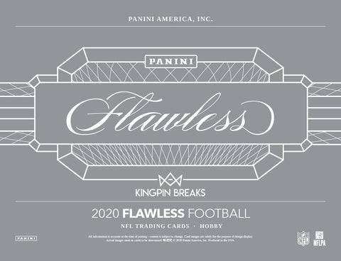 2020 Panini Flawless Football Hobby Random Team 1 Box Break #3