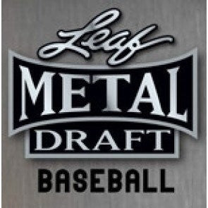 2020 Leaf Metal Draft Baseball Jumbo Hobby 3 Box Half Case Random Tiered Team #26