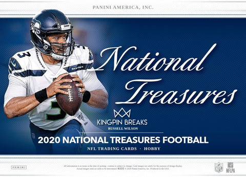 2020 Panini National Treasures Football Random Team 1 Box Break #6