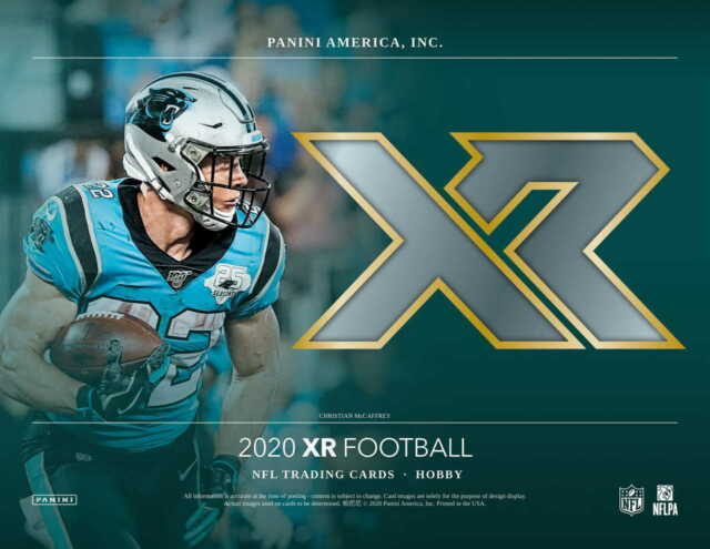 2020 Panini XR Football Pick Your Team 5 Box 1/3 Case Break #1