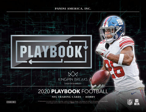 2020 Panini Playbook Football Hobby 4 Box 1/4 Case Pick Your Team Break #5