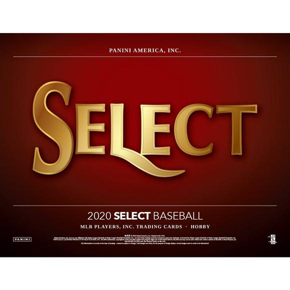 2020 Panini Select Baseball 6 box 1/2 case break pick your team #2