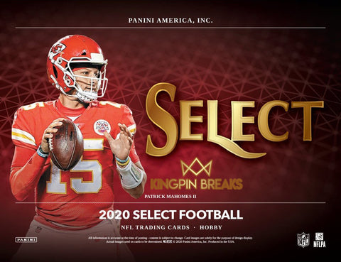 2020 Panini Select Football Random Tiered Team 1 Box Break #28