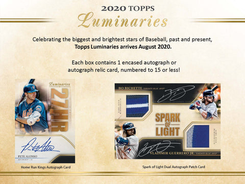 2020 Topps Luminaries Baseball 1 Box Random Division