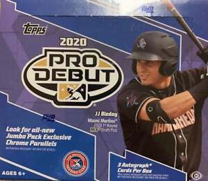 2020 Topps Pro Debut Baseball Jumbo Hobby 1 Sealed Box (Shipped)