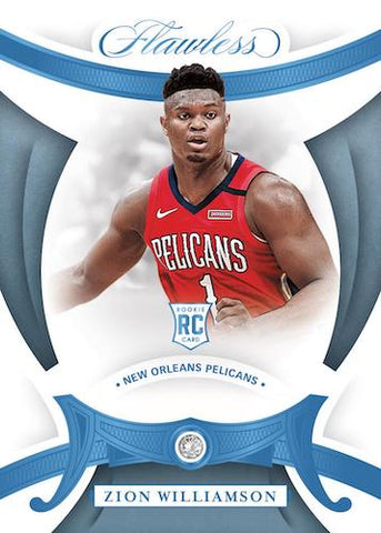 2019-20 Panini Flawless Basketball Random Serial Number 1 Box Break #1