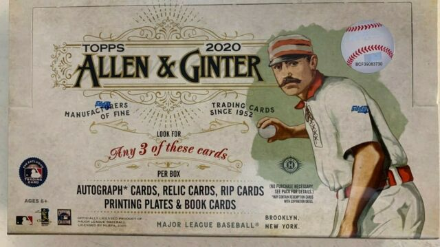 2020 Topps Allen & Ginter 6 box half case break pick your team #2