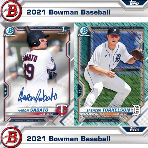 2021 Bowman Baseball Hobby 1 Sealed Box (Shipped) PRE-SALE