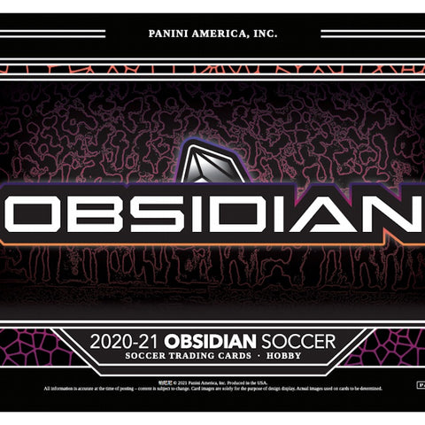 2020-21 Panini Obsidian Soccer Hobby 1 Box Random Tier Team Break #3