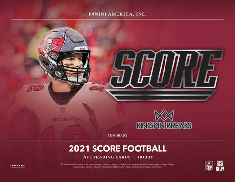 2021 Score Football Hobby 4 Box 1/3 Case Pick Your Team Break #3