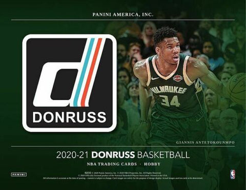 2020-21 Donruss Basketball CHOICE Random Tiered Team 1 Box Break #8