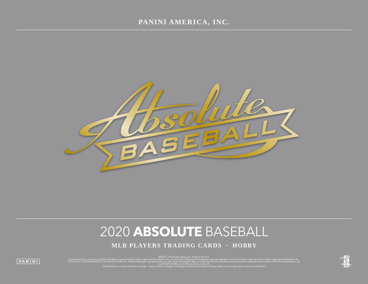 2020 Panini Absolute Baseball 5 box half case break pick your team #5